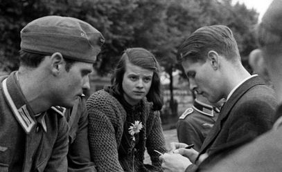 Hans Scholl, Sophie Scholl, and Christoph Probst of the White Rose worldwartwo.filminspector.com